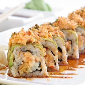 URAMAKI - INSIDE OUT ROLLS